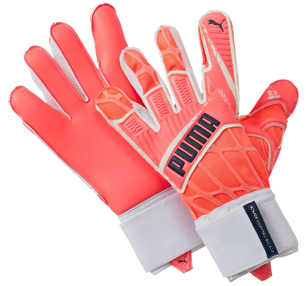 EvoSpeed 1.4 women's soccer goalkeeper gloves by Puma