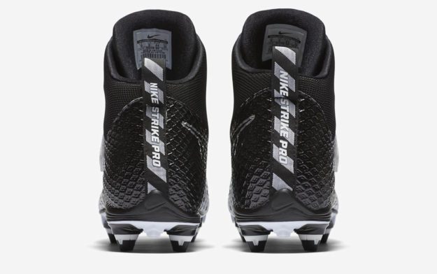 Force Lunarbeast Pro Football Cleats by Nike, Heel Tab