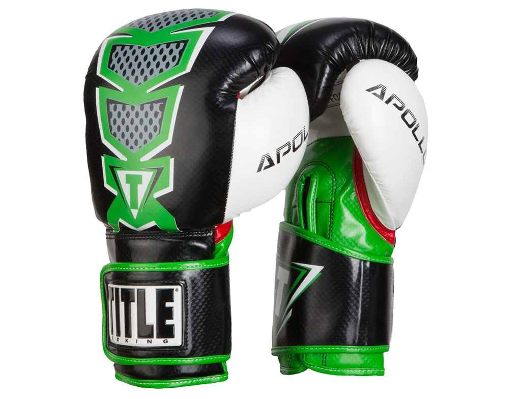 Green TITLE Infused Foam Apollo Bag Gloves