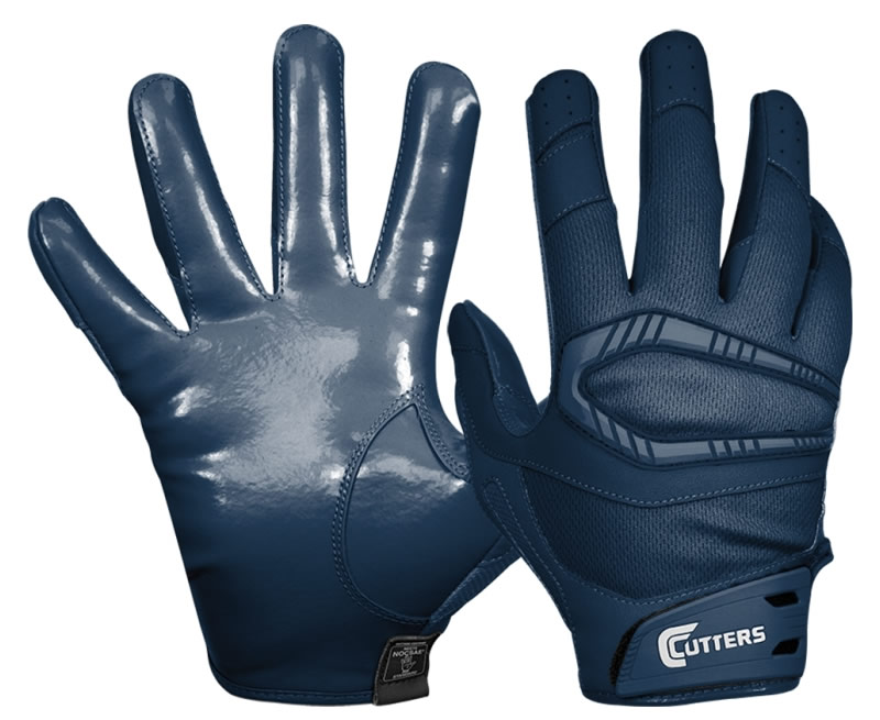Navy Adult Rev Pro Receiver Gloves By Cutters