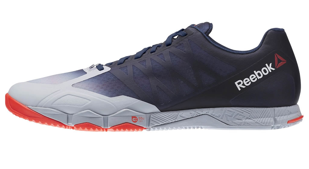 ... Navy Crossfit Speed TR Shoes For Men By Reebok ...