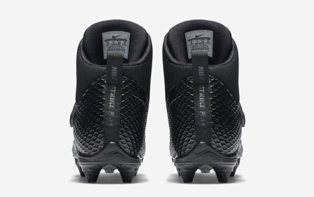 Nike Force Lunarbeast Pro Football Cleats, Heel Tab