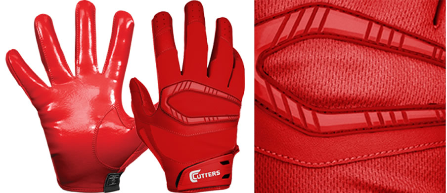 Adult Rev Pro Receiver Gloves By Cutters