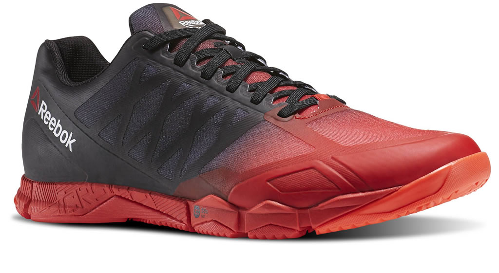 Red Men's Crossfit Speed TR Shoes by Reebok