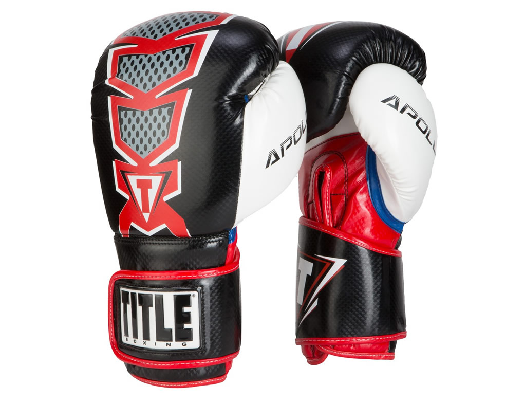 Red TITLE Infused Foam Apollo Bag Gloves