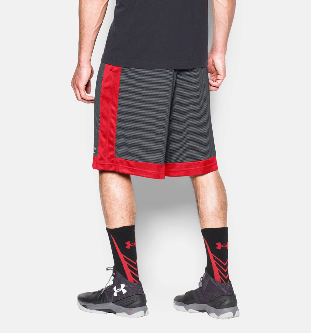 SC30 Essentials Men's Basketball Shorts By Under Armour, Back