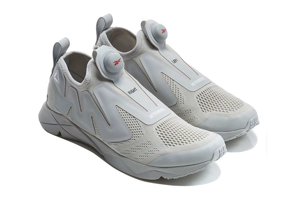 Sneakers by Vetements x Reebok Pump