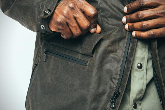 Special Edition Eiger Jacket By Mission Workshop, Pocket
