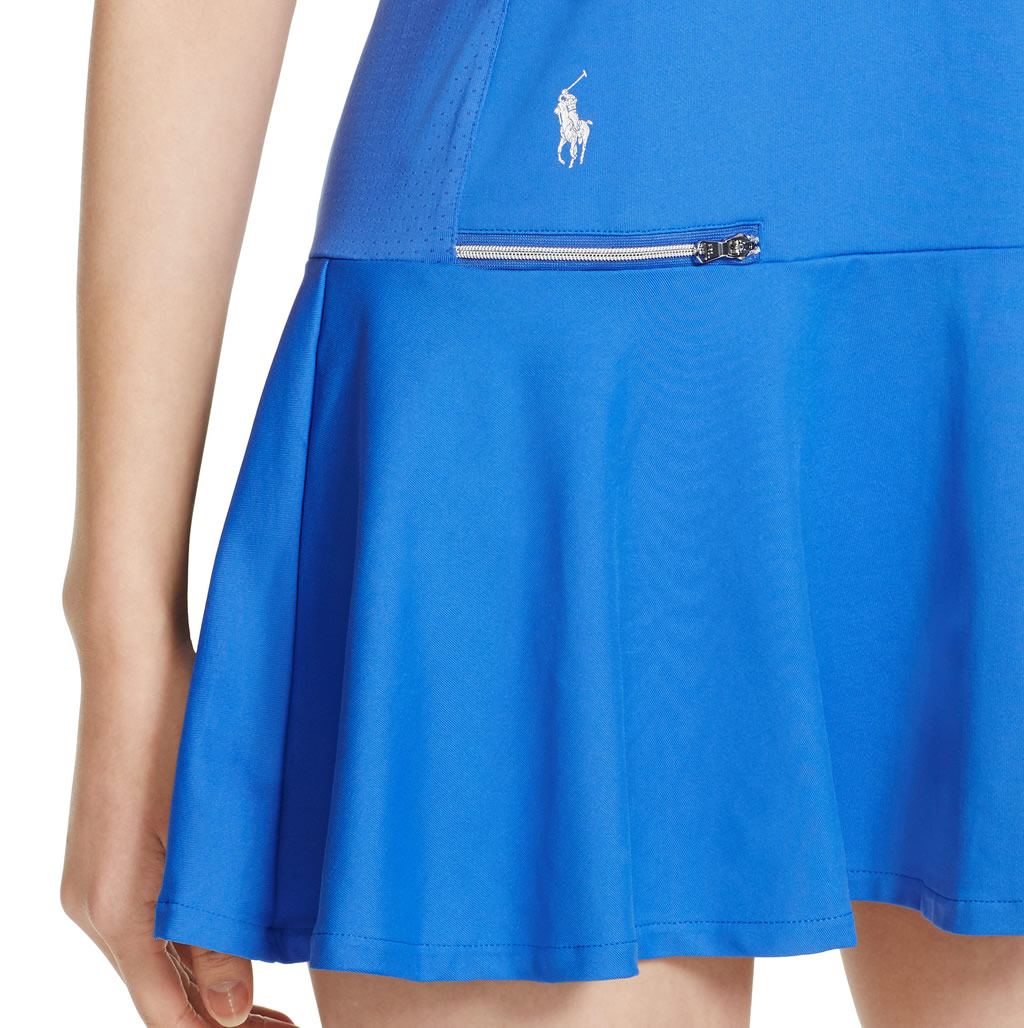 Tennis dress by Ralph Lauren , Zip Pocket