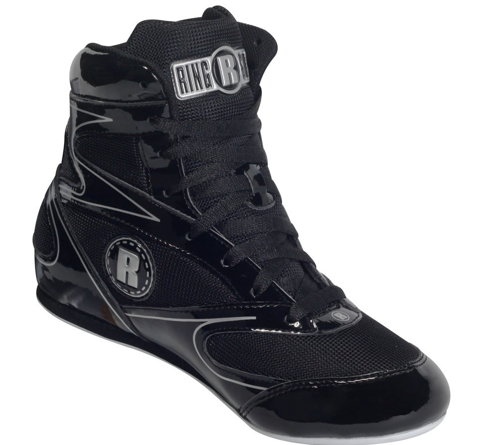 Black Ringside Diablo Boxing Shoes