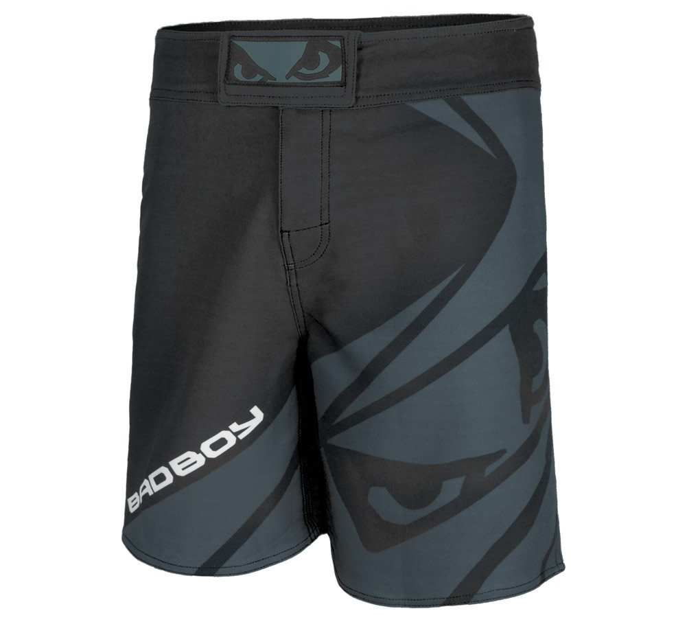 Black Velocity MMA Shorts by Bad Boy