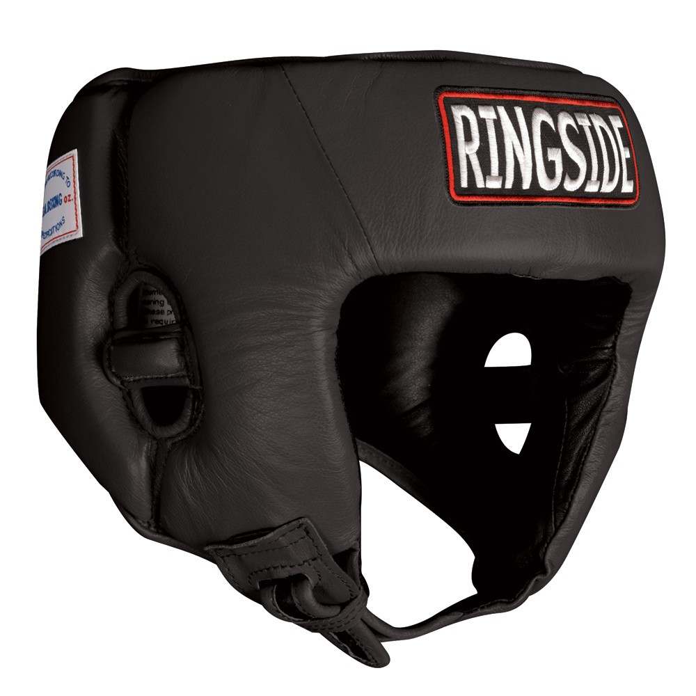 Black Youth Competition Headgear by Ringside