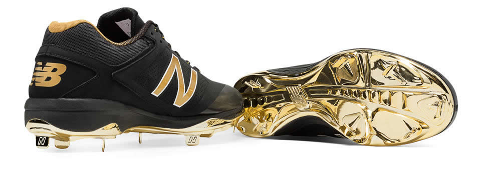 Gold Hero 4040v3 Metal Cleat By New Balance, Sole