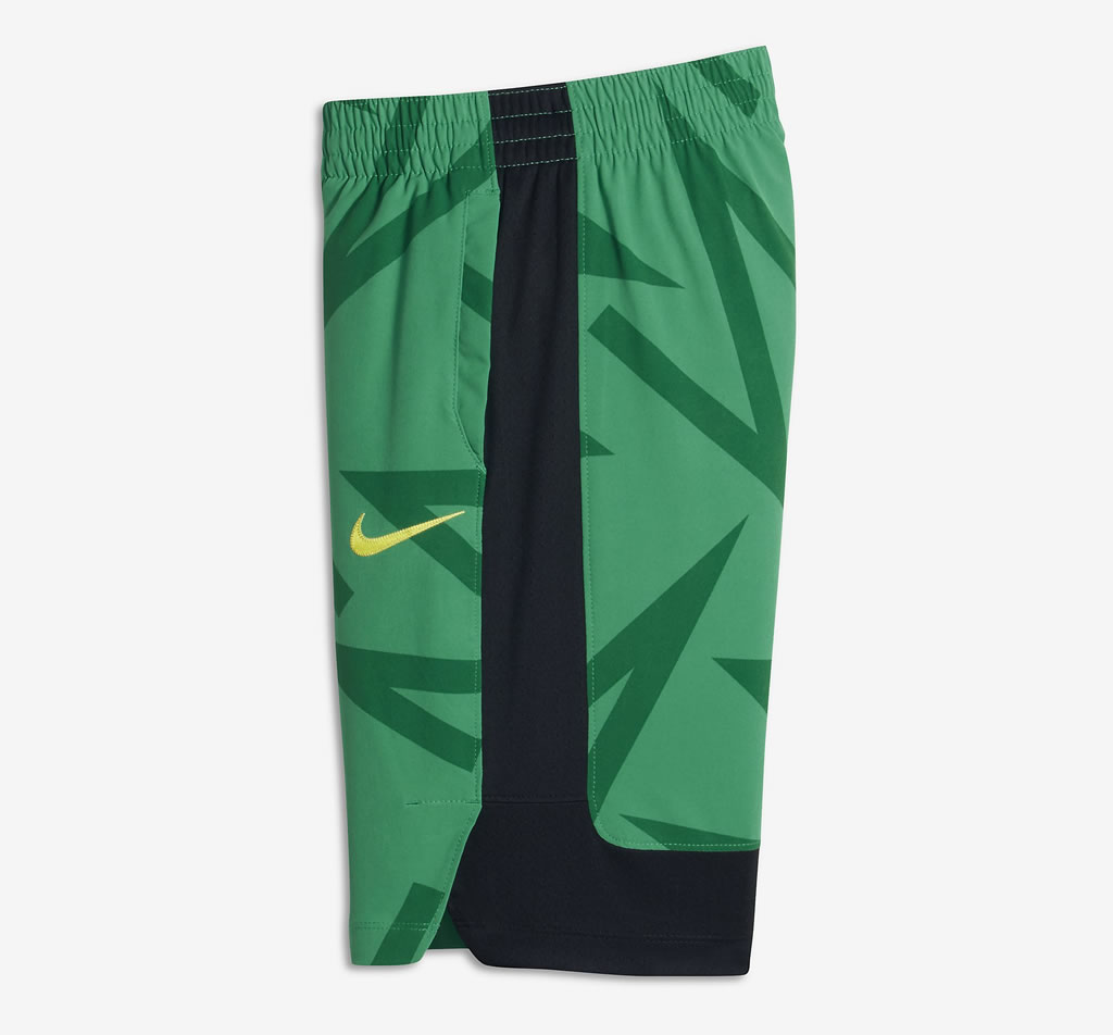 Green Flex Kyrie Hyper Elite Big Kids Basketball Shorts by Nike