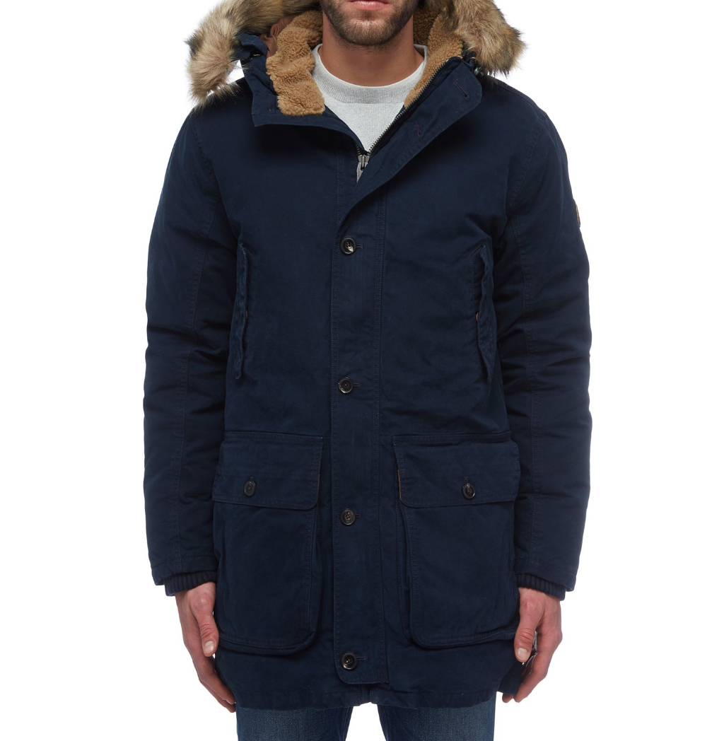 Men's Waxed Parka By Timberland