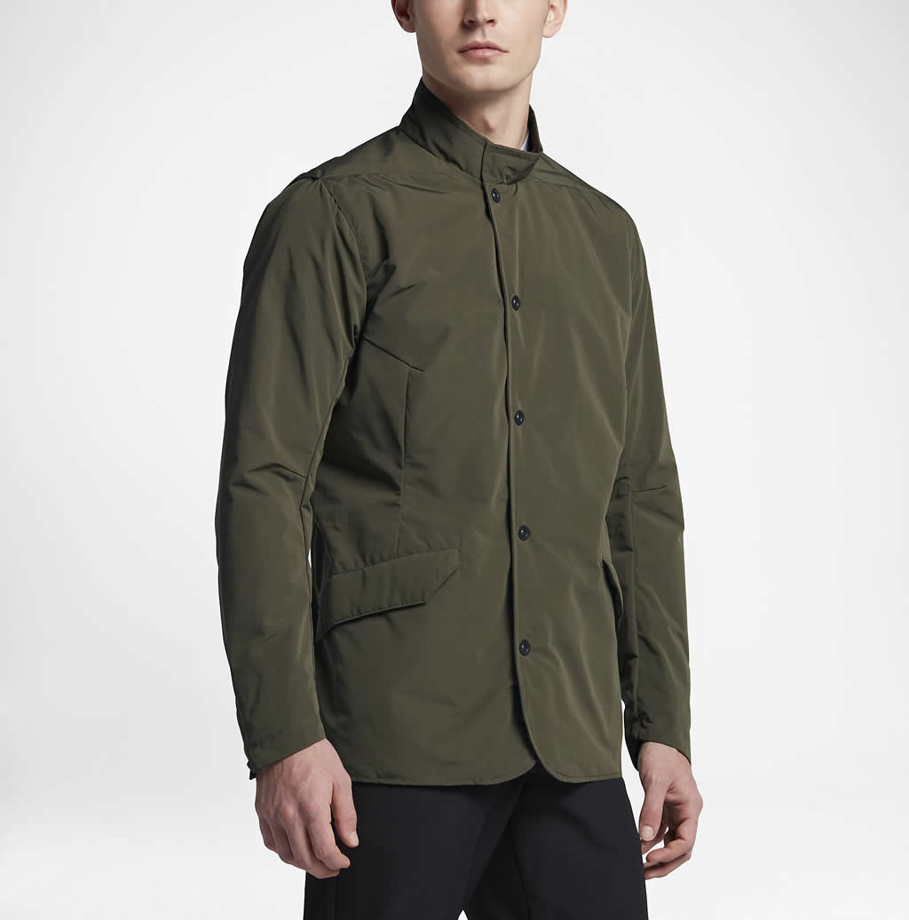 Men's cold weather golf jackets by Nike