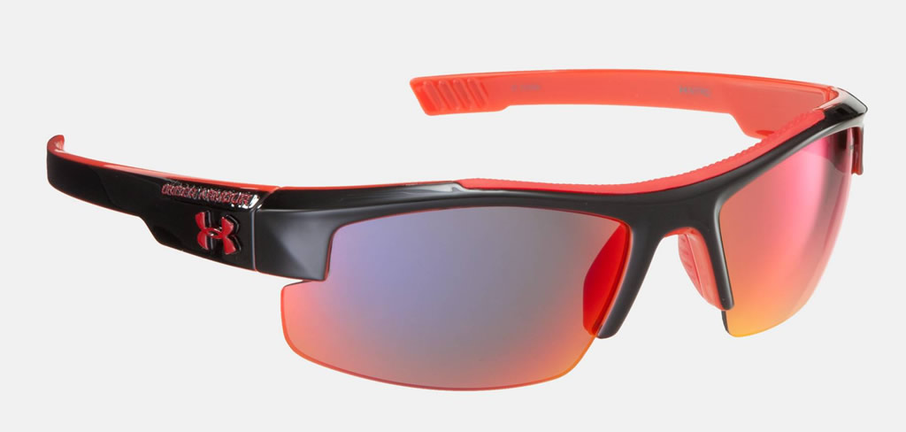 766ef84418 Red Nitro L Kids  Baseball Sunglasses by Under Armour