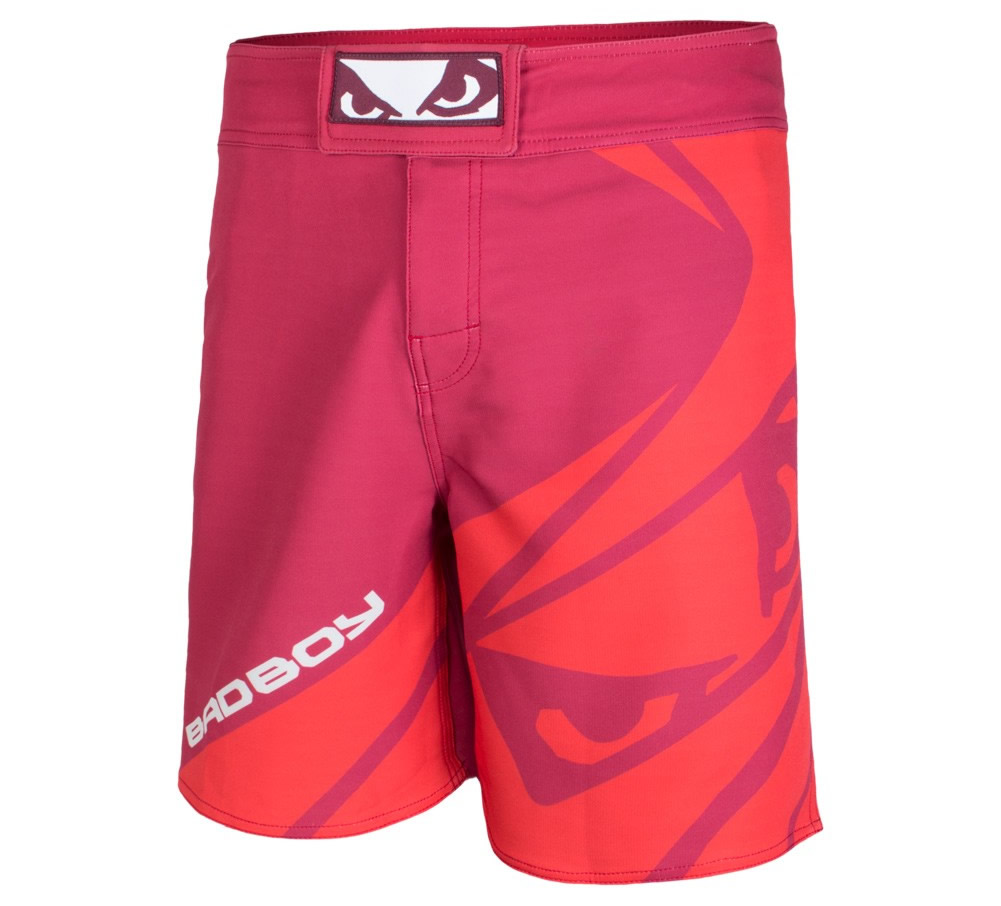 Red Velocity MMA Shorts by Bad Boy