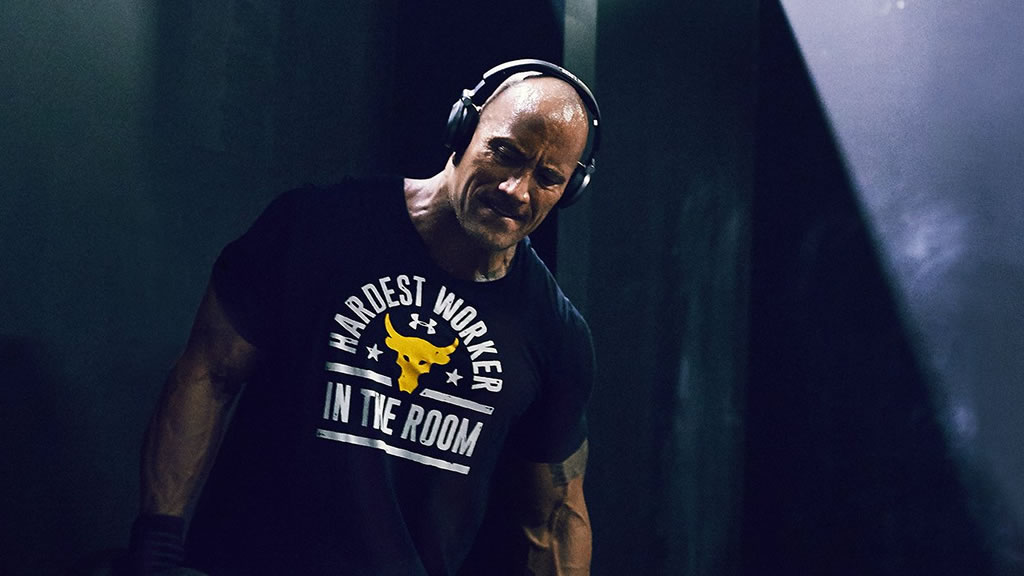 Rock The Troops Shirts By Under Armour And The Rock