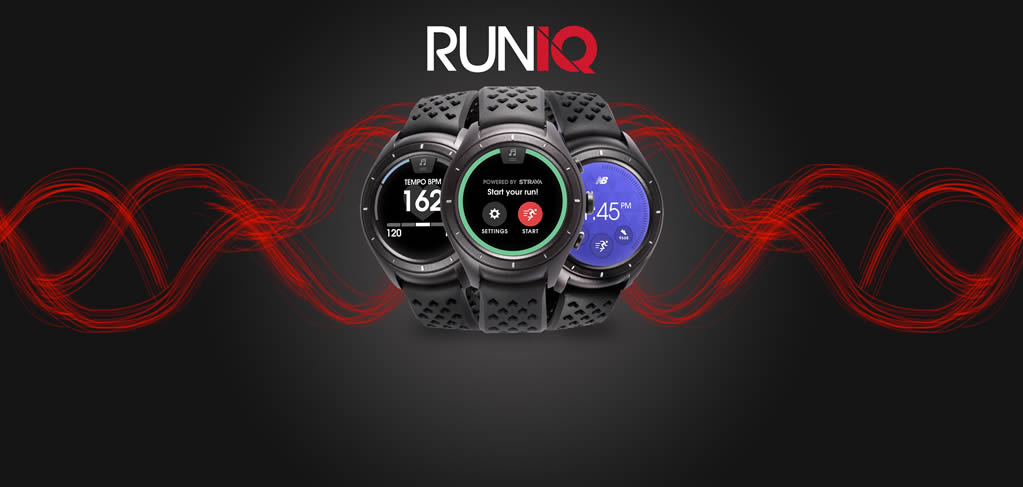 Runiq Fitness Tracker Watch By New Balance