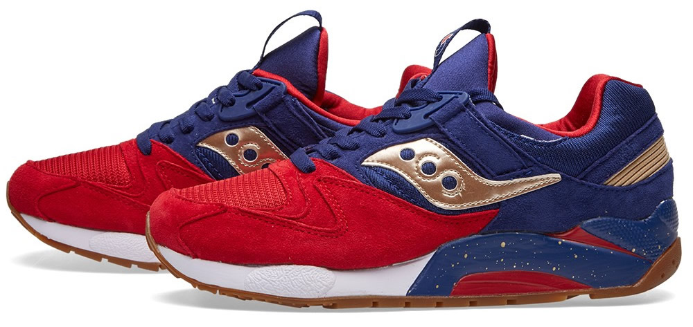 Saucony Grid 9000 Sneaker Inspired By Sparring