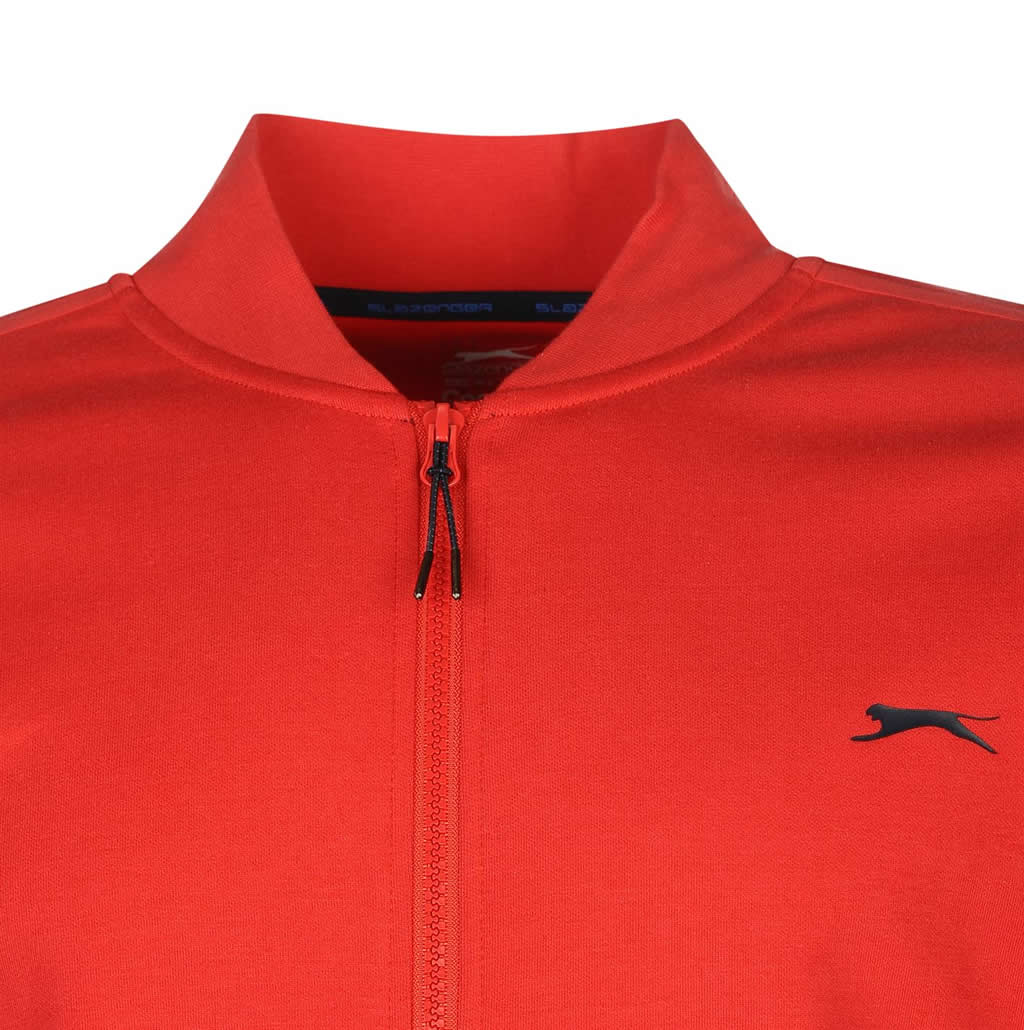 Slazenger men's tennis warm up jackets, Collar