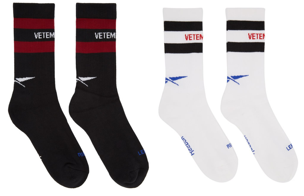 Sock Collection by Vetements x Reebok