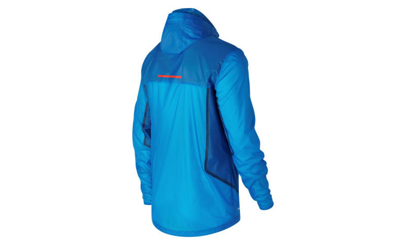 Tech Training Rain Jacket By New Balance, Back
