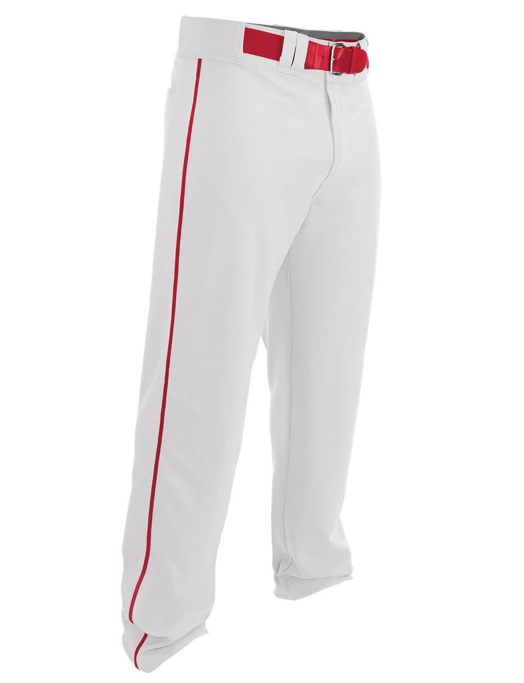 White-Red Rival 2 Youth Baseball Pant by Easton