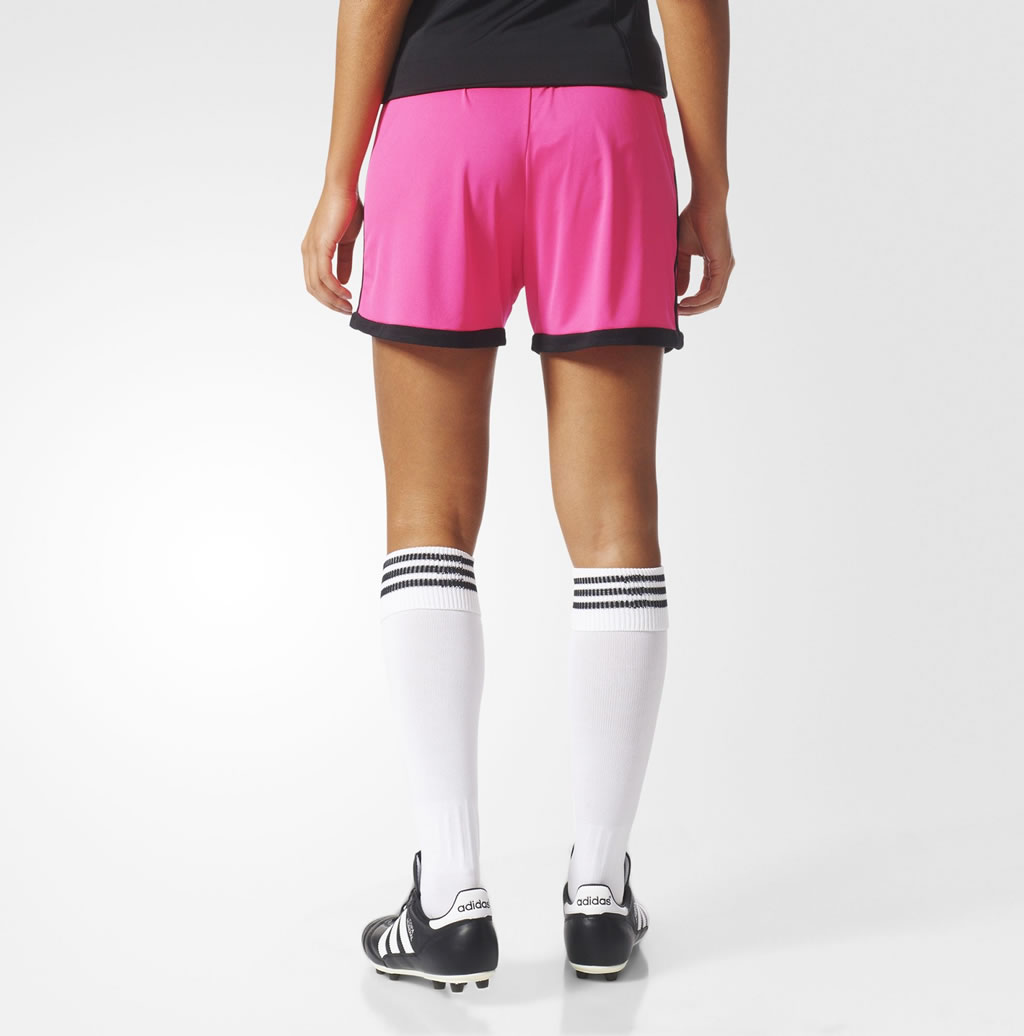 Women's Soccer Shorts By Adidas, Back