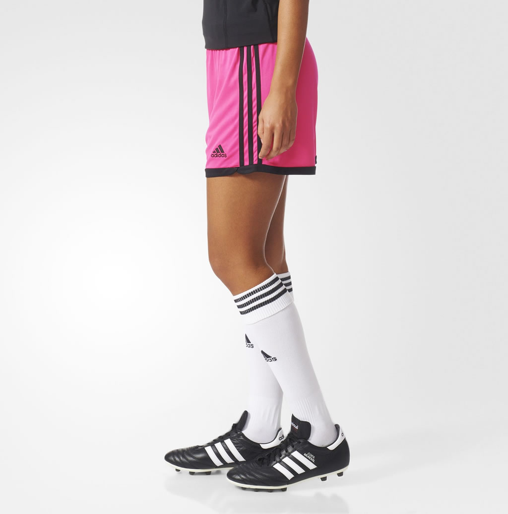 Women's Soccer Shorts By Adidas, Side
