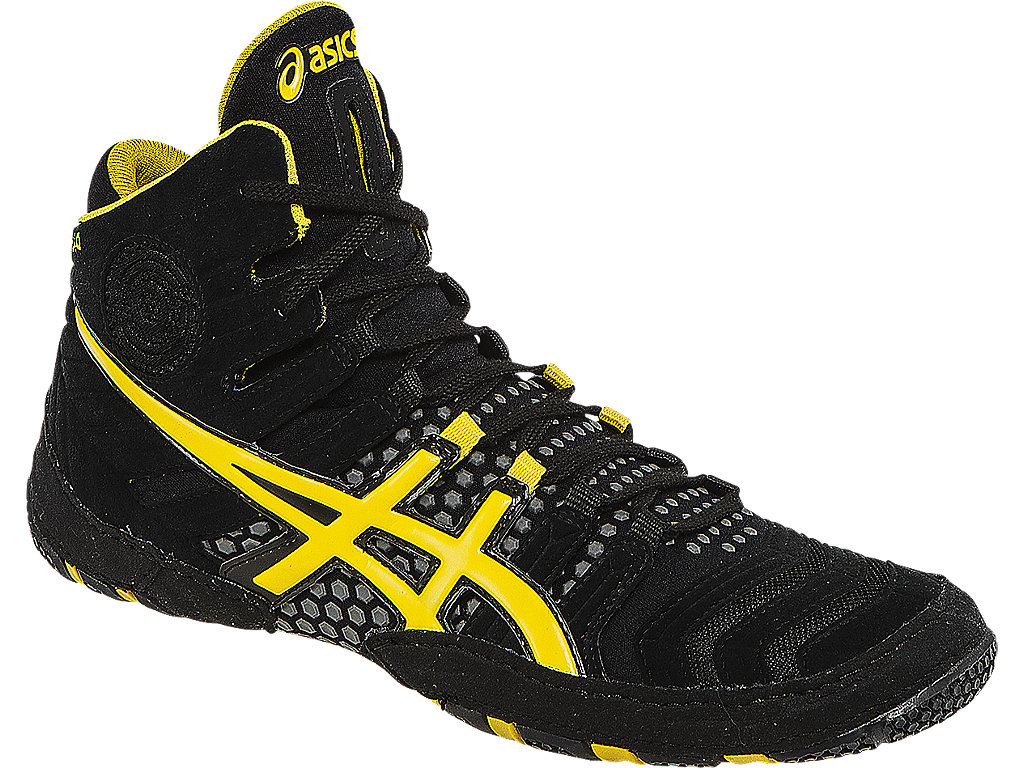 Yellow Men's Wrestling Shoes By ASICS