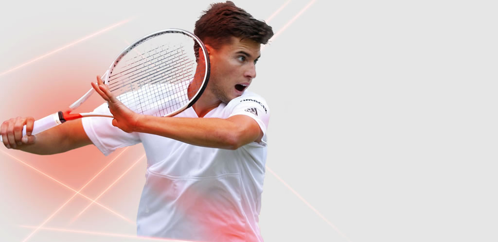 2017 Pure Strike Tennis Racket by Babolat, Dominic Thiem