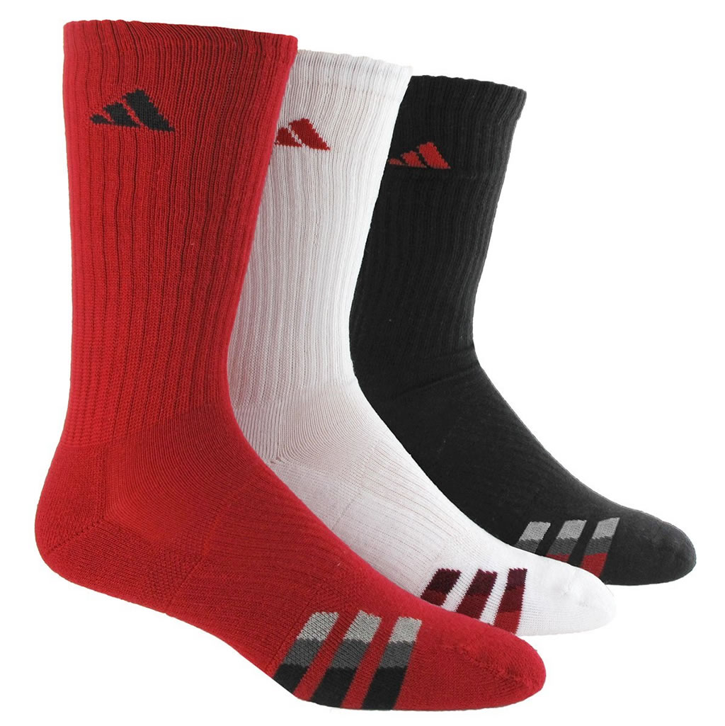 Adidas Cushioned Color Crew Basketball Sock for Men