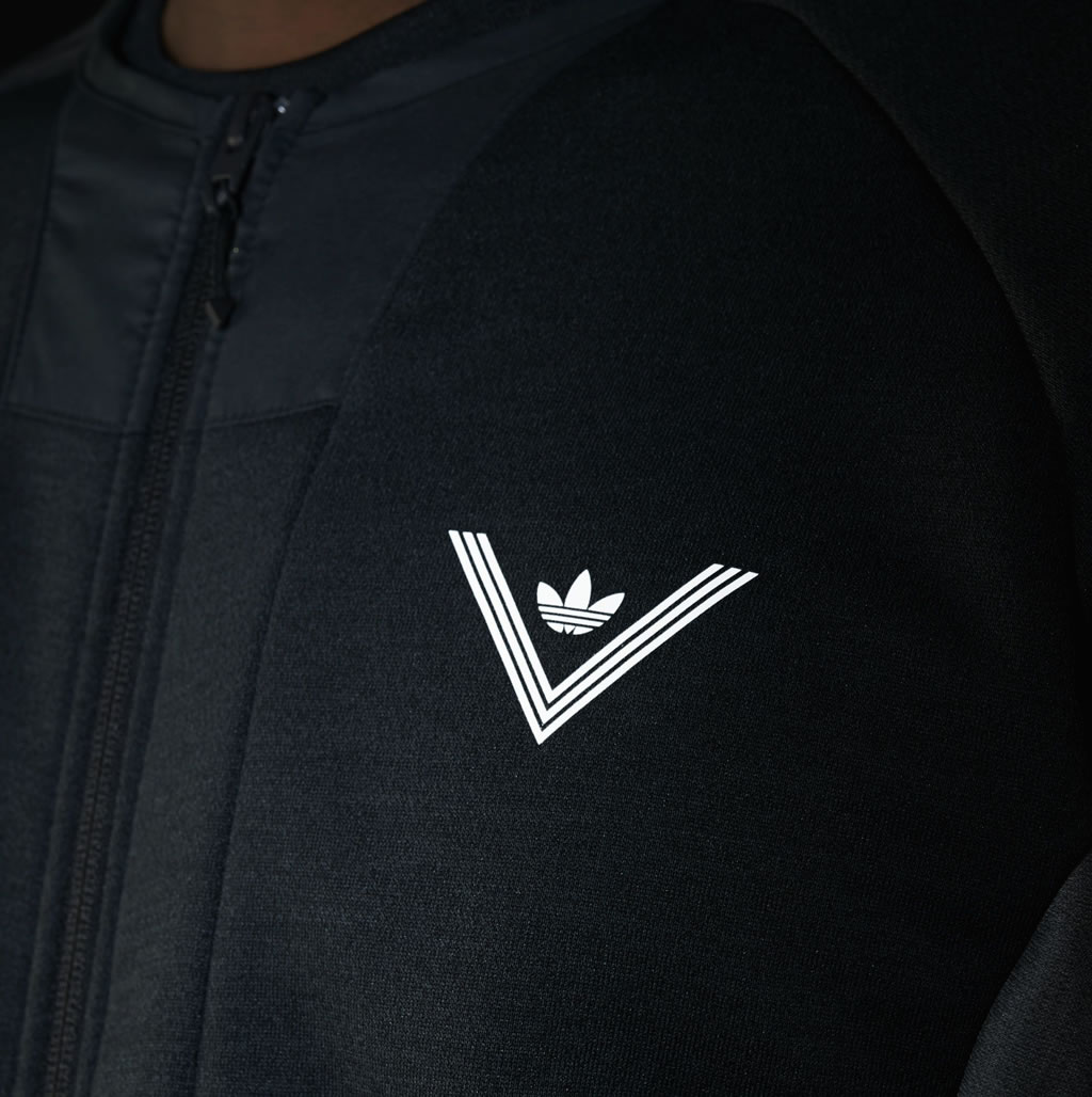 Adidas White Mountaineering jacket for men, Logo