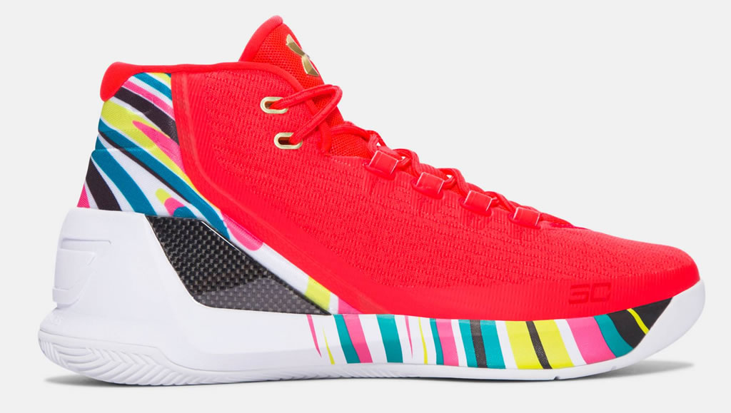 Aluminum Curry 3 Basketball Shoes For Men by UA