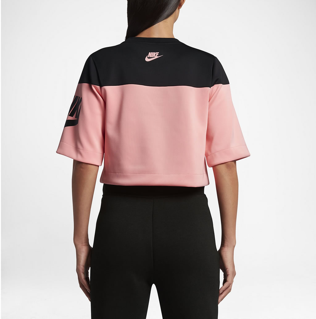 Back Women's Short Sleeve Top By Nike Sportswear