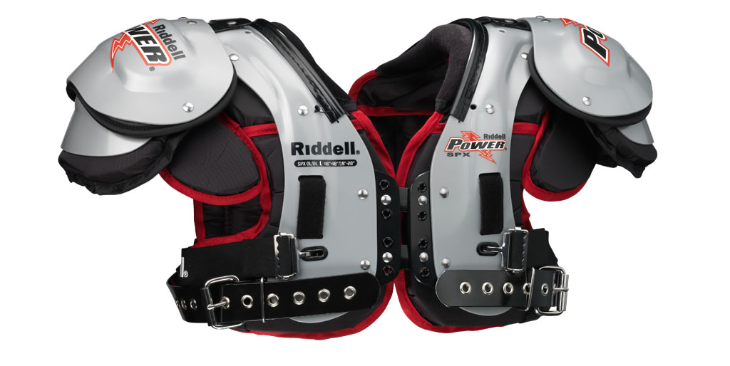 Best shoulder pads for offensive lineman by Riddell
