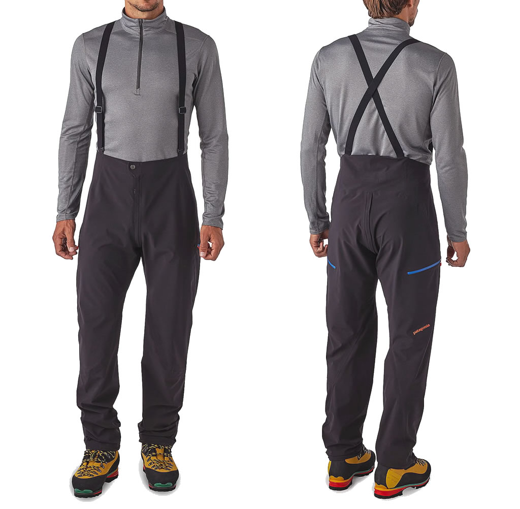 Black Galvanized Pants for men by Patagonia