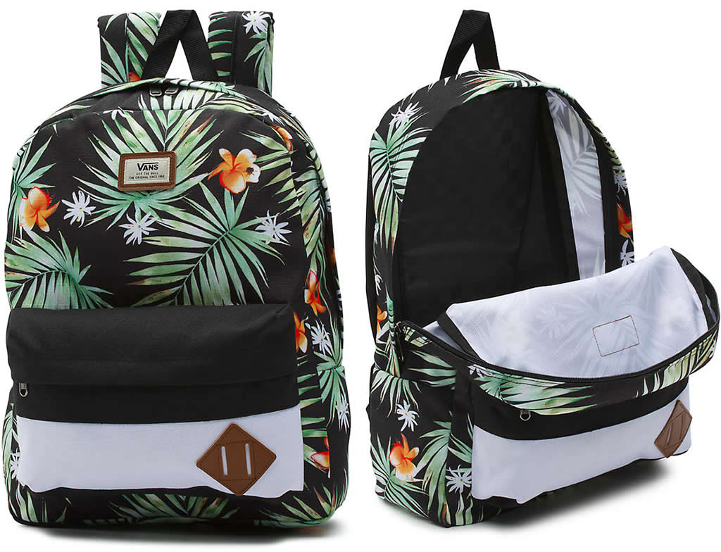 Black Palm Old Skool II backpack by Vans