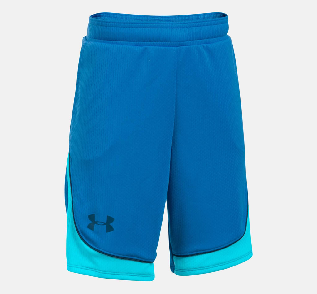 Blue Basketball Shorts for Women By UA