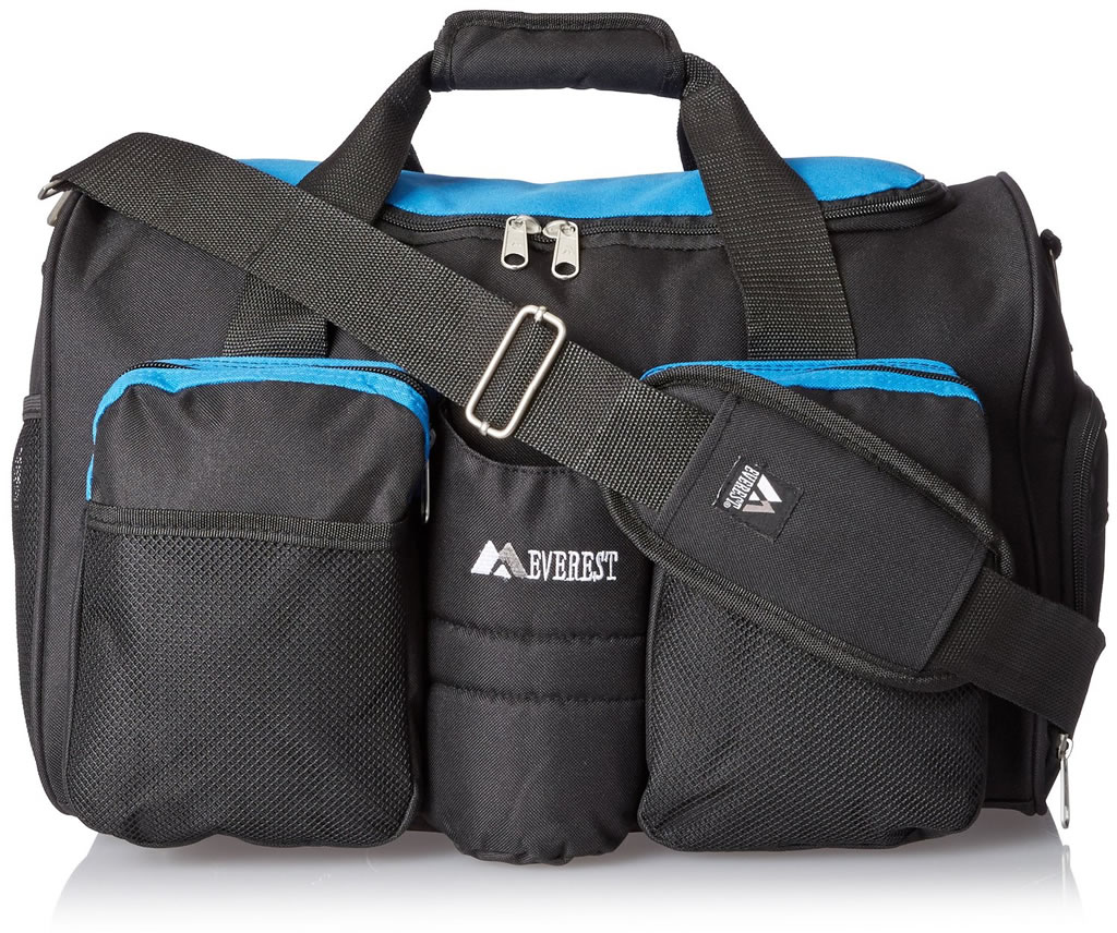 Blue Everest Gym Bag with Wet Pocket