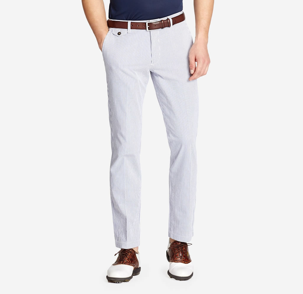 Blue Heathland Golf Pants
