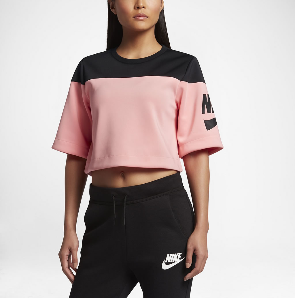Bright Track and field crop top for women by Nike