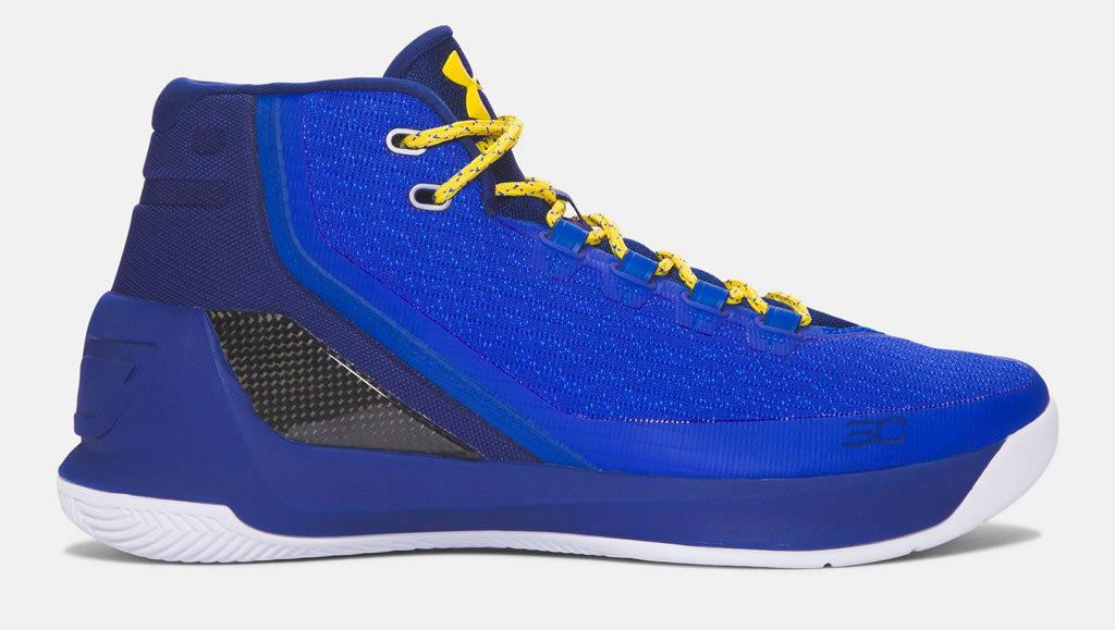 Caspian Curry 3 Basketball Shoes For Men by UA