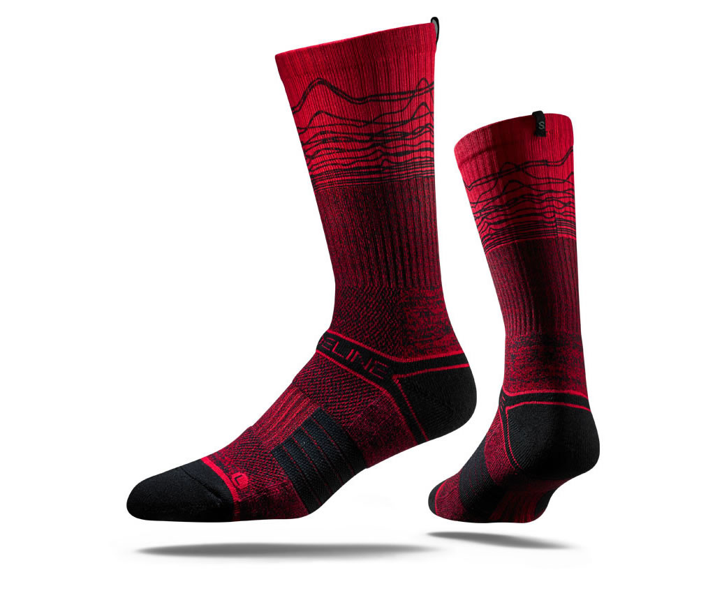 EKG Basketball Sock By Strideline