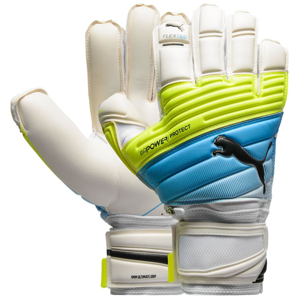 EvoPower Protect 1.3 Soccer Goalkeeper Gloves