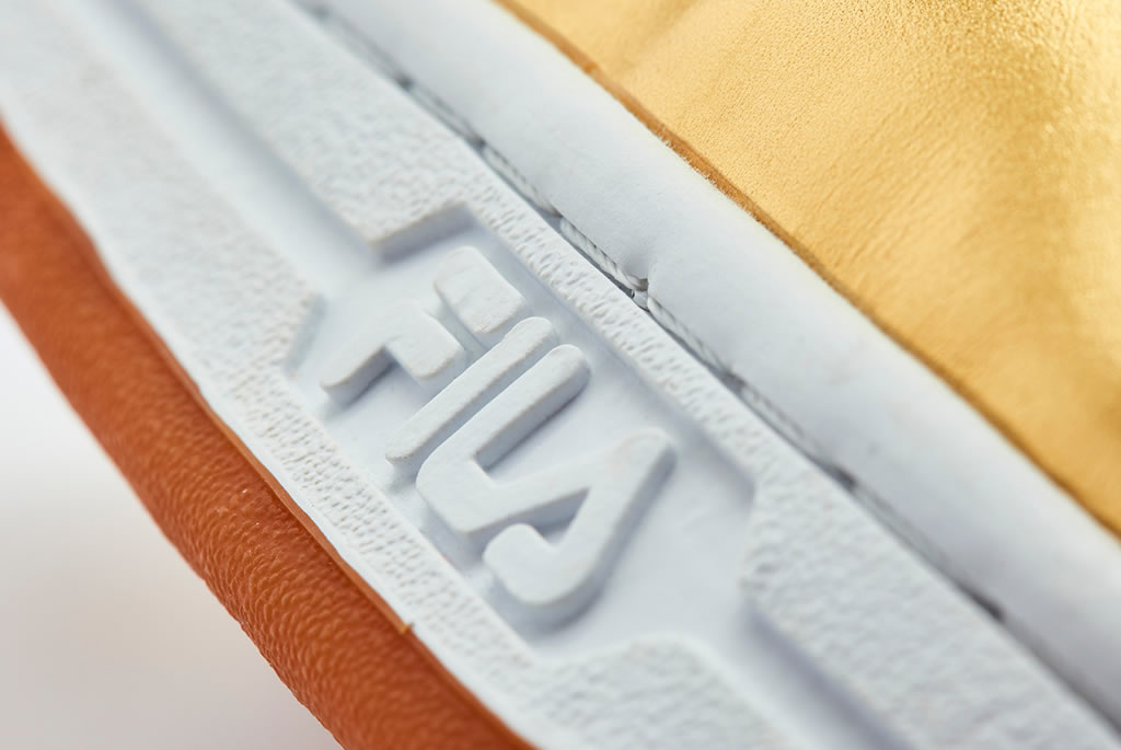 FILA Original Tennis Sneaker Gold Leather