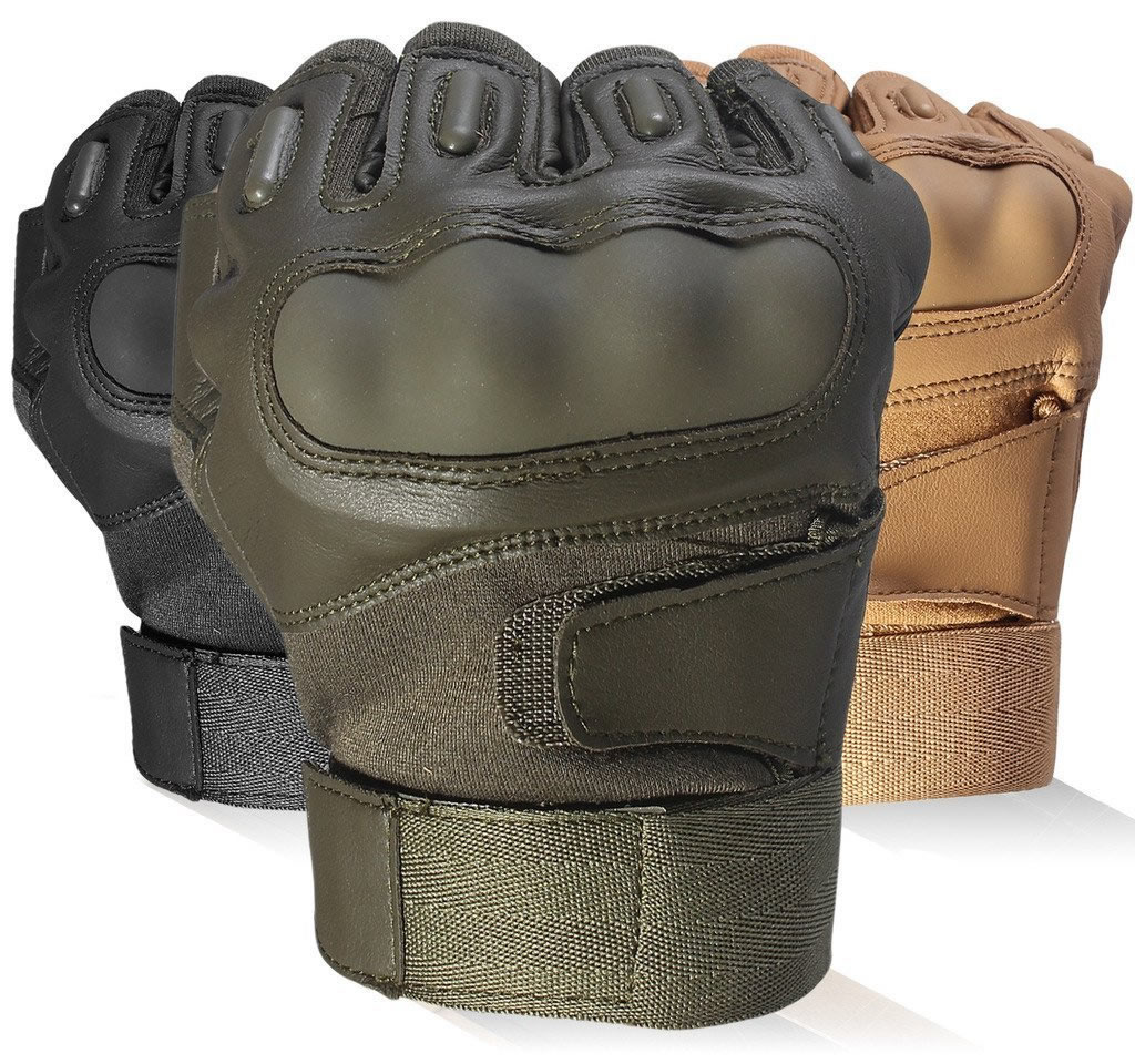 GOWINGLD Half Fingerless Tactical Airsoft Protection Gloves