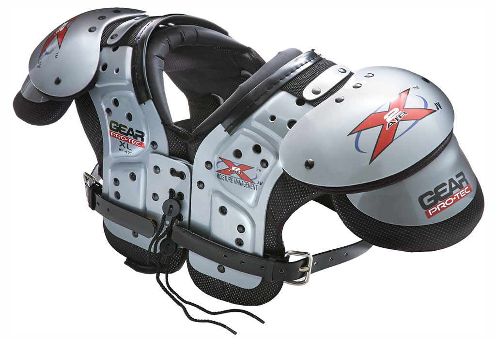 Gear Pro-Tec X2 Air X-27F Adult Football Shoulder Pads